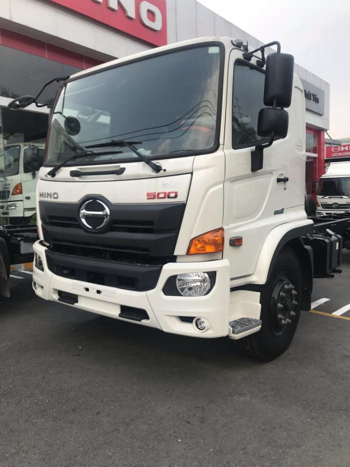 Xe tải Hino 16 tấn thùng lửng dài 7m8 - Gọi 0913553798 (MrThi 24/24)