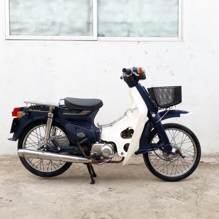 Cub 82 Honda Nhật 90c CỐP NỔI nguyên bản biển 4 số