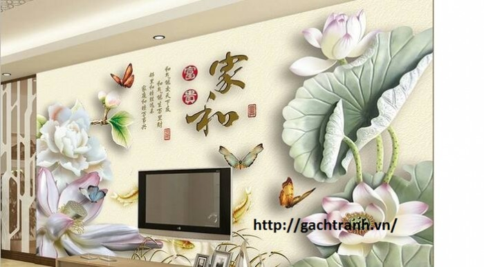 Tranh gạch 3d- gạch tranh sứ ngọc hp09164