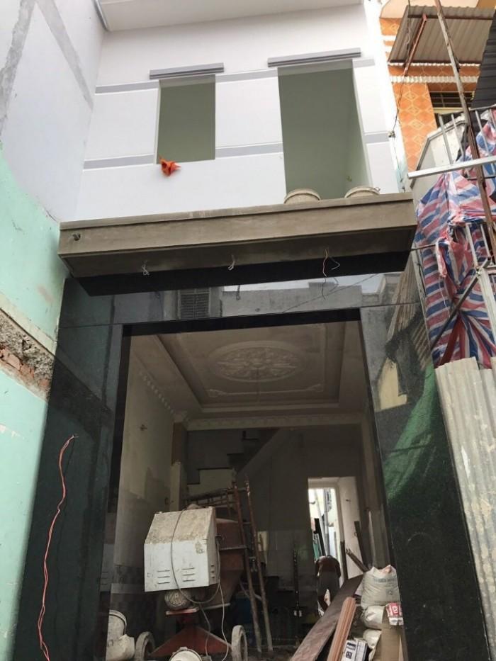 Nhà Sổ Hồng Riêng, đường Dương Cát Lợi, TT Nhà Bè, DT 3.4x16m, trệt lầu, 2pn
