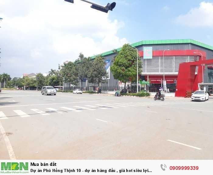 Dự án Phú Hồng Thịnh 10 - nhà phố Dĩ An ,dự án hàng đầu , giá hot siêu lợi nhuận.