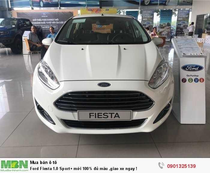 Ford Fiesta 1.0 Sport+ mới 100% đủ màu ,giao xe ngay !