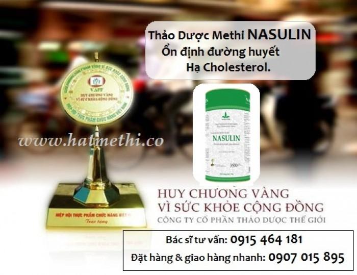 Hạt Methi Nasulin - thảo dược hàng đầu điều trị tiểu đường, mỡ máu cao1