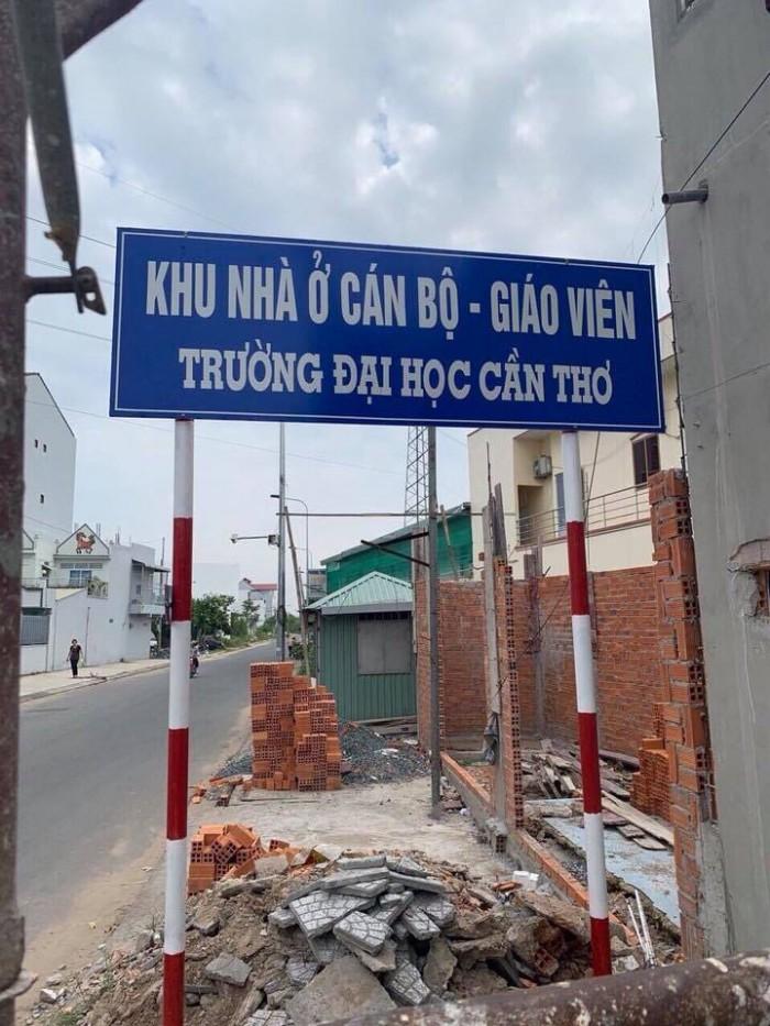 Bán nền khu cán bộ giảng viên đại học cần thơ đối diện khu dân cư 91b đ. Nguyễn Văn Linh