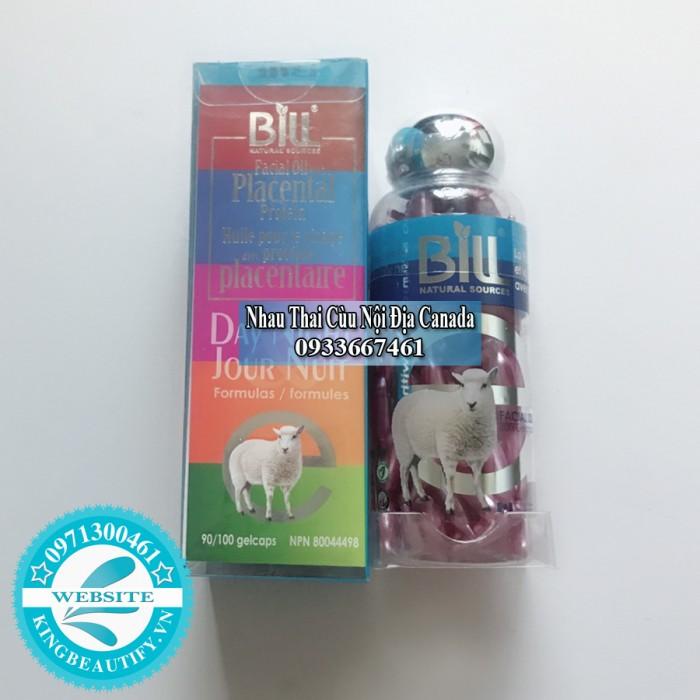 Nhau Thai Cừu Dầu Gan Cá Mập và Vitamin E Bill Natural Sources, 100 viên nang