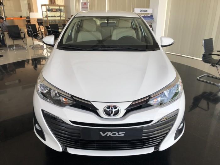 Toyota  vios 1.5G màu trắng giao ngay 3