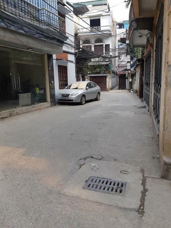 Bán nhà đẹp, ngõ ô tô tránh, ô tô đỗ cửa Đại Từ, S40m2, 5t