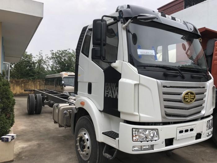 Bán xe tải FAW 7T8 thùng dài 9m8, hỗ trợ trả góp 80% 0