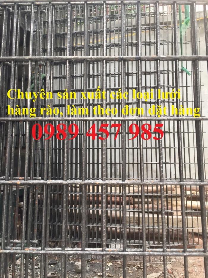 Sản xuất lưới thép hàn phi 6 đổ bê tông 100x100, 150x150, 200x200, lưới hàn chập phi 6 làm hàng rào1