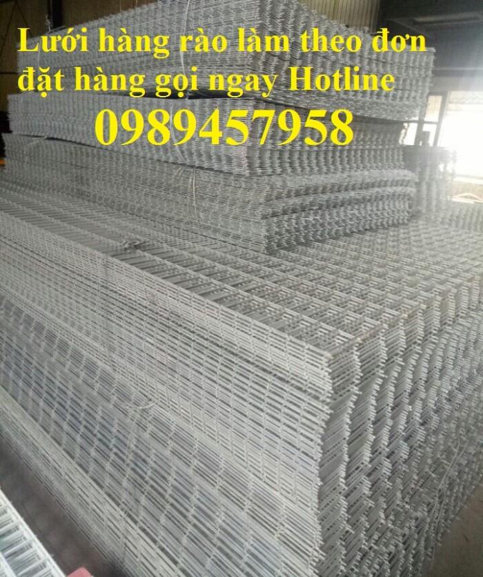 Sản xuất lưới thép hàn phi 6 đổ bê tông 100x100, 150x150, 200x200, lưới hàn chập phi 6 làm hàng rào0