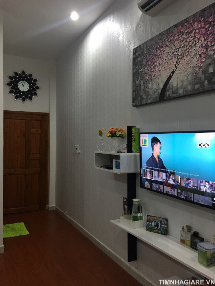 Bán nhà hẻm 71 Đào Tông Nguyên, Nhà Bè, Tp.HCM, DT 4m x 30m, nhà 1 trệt 1 lầu, 4 PN