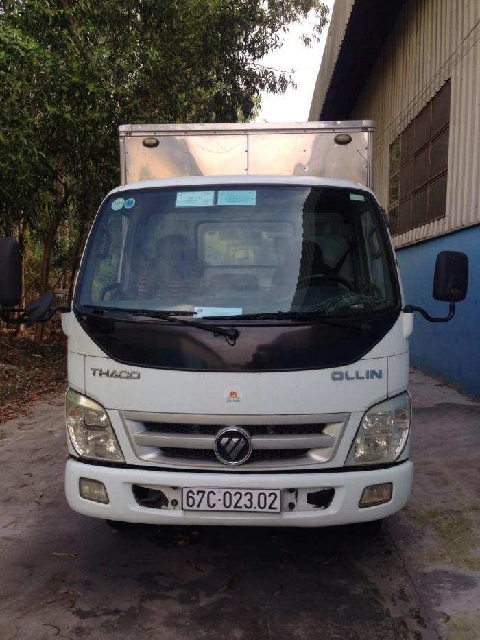 Xe tải 2,2 tấn hiệu Thaco, số sàn, SX 2013,