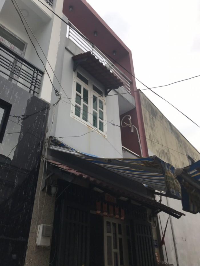 Cần Bán Nhà Hẻm 4m Tỉnh Lộ 10 ( 4x8m ) Nhà 2 Lầu Đúc Thật . Quận Bình Tân