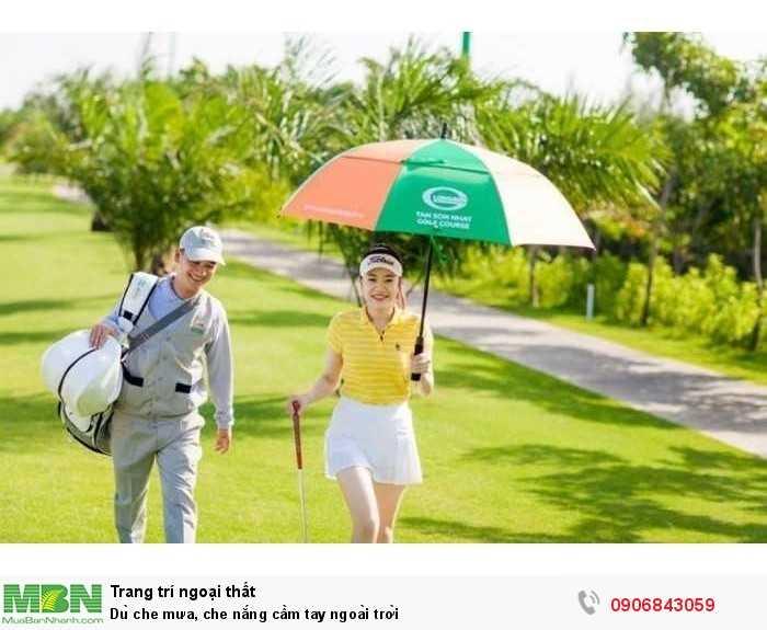 Dù che mưa, che nắng cầm tay ngoài trời0