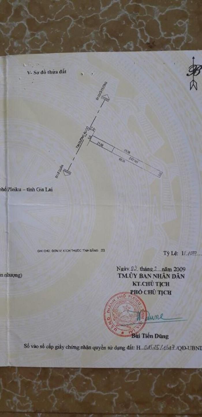 Đất Mặt Tiền Âu Cơ 5x69m có 108m2 đất ở