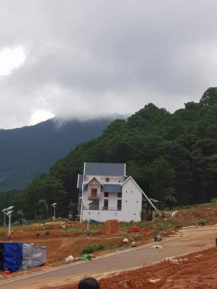 Bán đất nền Biệt Thự Liền Kề  dự án du lịch LangBiang Lạc Dương Đà Lạt
