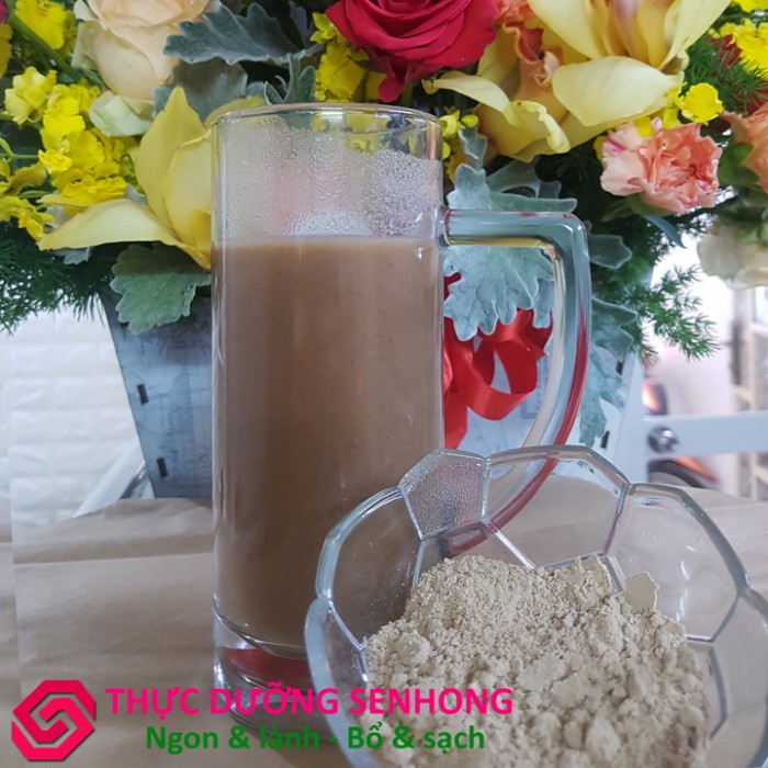 Bột ngũ cốc thảo mộc Kokkoh (1Kg) Thực dưỡng Sen Hồng3