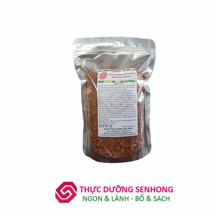 Gạo lứt đỏ 6 Tháng hữ cơ (2Kg) Thực dưỡng Sen Hồng