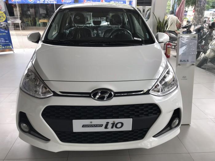 Hyundai Grand i10 1.2AT 2018 Ckd Mới 100%, Giảm Ngay 50 Triệu, Nh Hỗ Trợ 85%.