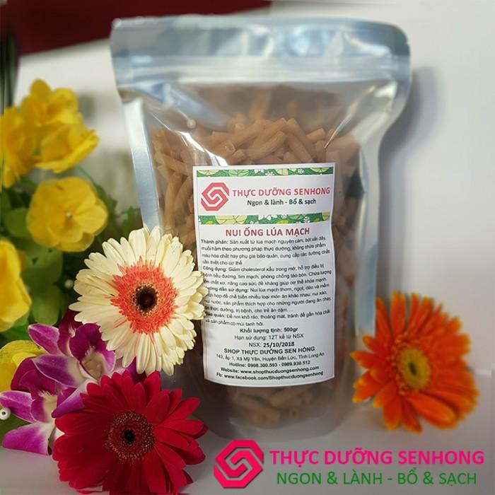 Nui lúa mạch nguyên cám (500gr) Thực dưỡng Sen Hồng1