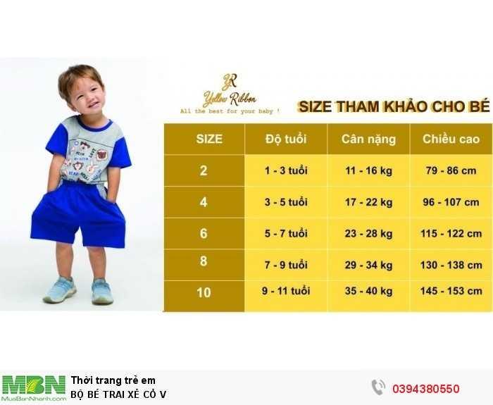 Size tham khảo cho bé theo cân nặng và chiều cao