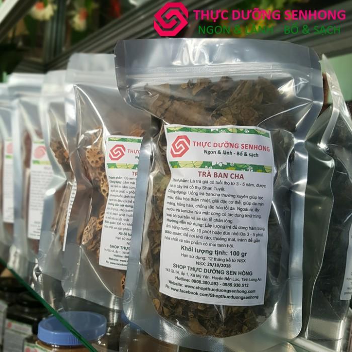 Trà bancha Shan Tuyết, lá trà già lâu năm3