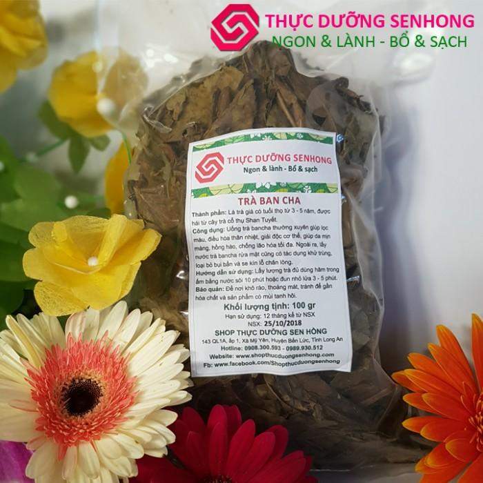 Trà bancha Shan Tuyết, lá trà già lâu năm4