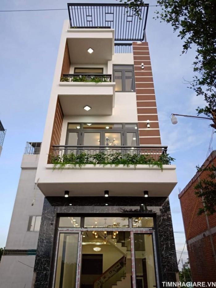 Nhà Bán 4m x 17m, 4 phòng ngủ, 5WC, Đường 6m Đào Tông nguyên, Nhà Bè, Tp.HCM.