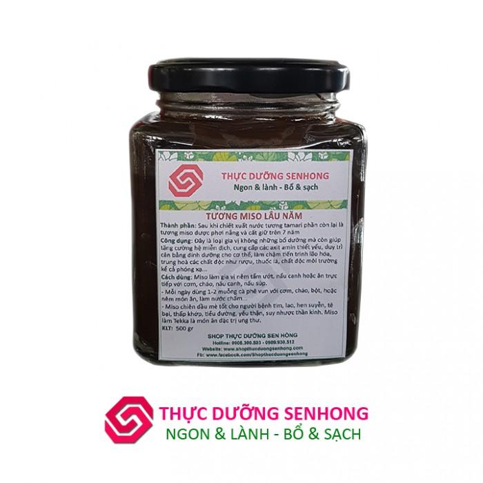 Tương miso lâu năm (3 năm 500gr) Thực dưỡng Sen Hồng