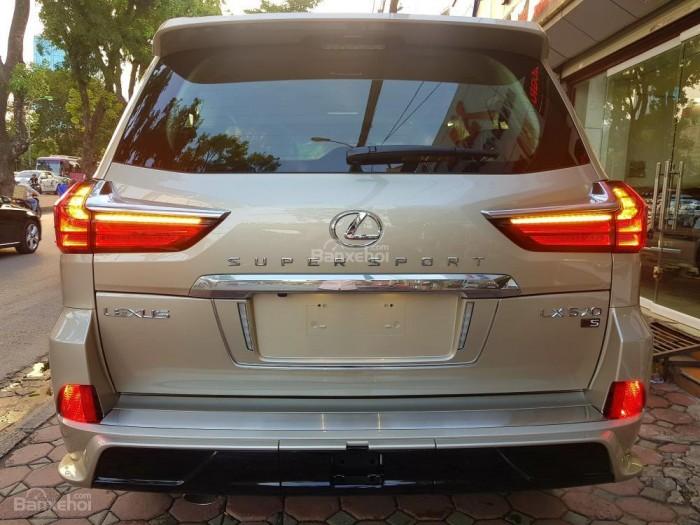 Bán xe Lexus LX 570S SuperSport đời 2018, màu vàng cát , nhập khẩu Trung Đông nguyên chiếc. 2