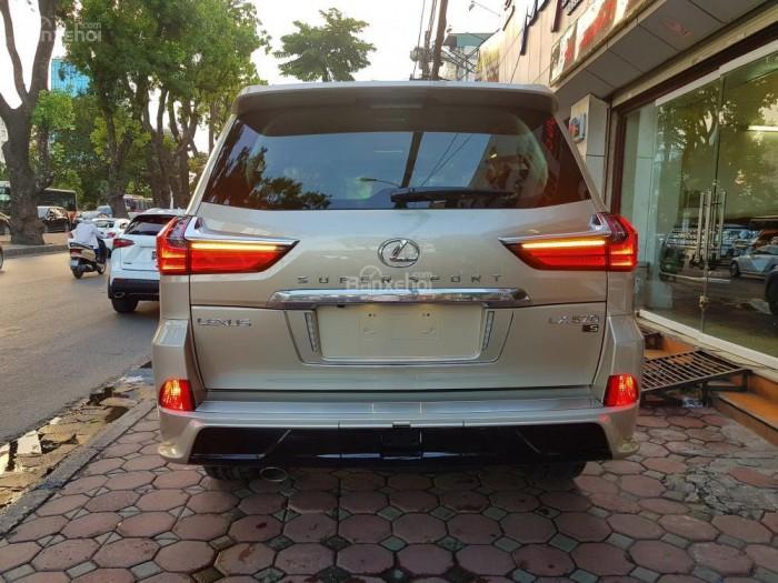 Bán xe Lexus LX 570S SuperSport đời 2018, màu vàng cát , nhập khẩu Trung Đông nguyên chiếc. 0