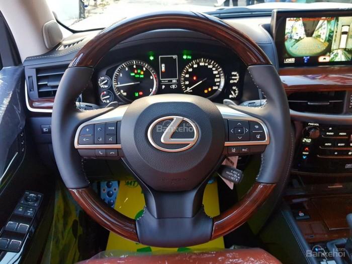Bán xe Lexus LX 570S SuperSport đời 2018, màu vàng cát , nhập khẩu Trung Đông nguyên chiếc. 14