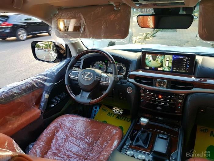 Bán xe Lexus LX 570S SuperSport đời 2018, màu vàng cát , nhập khẩu Trung Đông nguyên chiếc. 5
