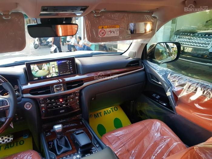 Bán xe Lexus LX 570S SuperSport đời 2018, màu vàng cát , nhập khẩu Trung Đông nguyên chiếc. 4