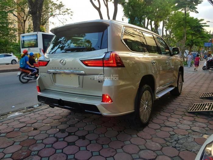 Bán xe Lexus LX 570S SuperSport đời 2018, màu vàng cát , nhập khẩu Trung Đông nguyên chiếc. 17