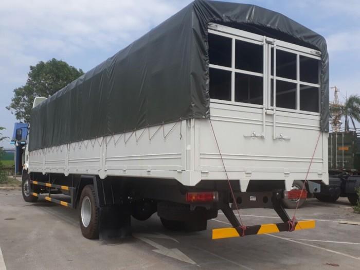 Xe tải FAW thùng 10 mét - Xe FAW thùng siêu dài 10 mét - Động cơ 6 máy 2