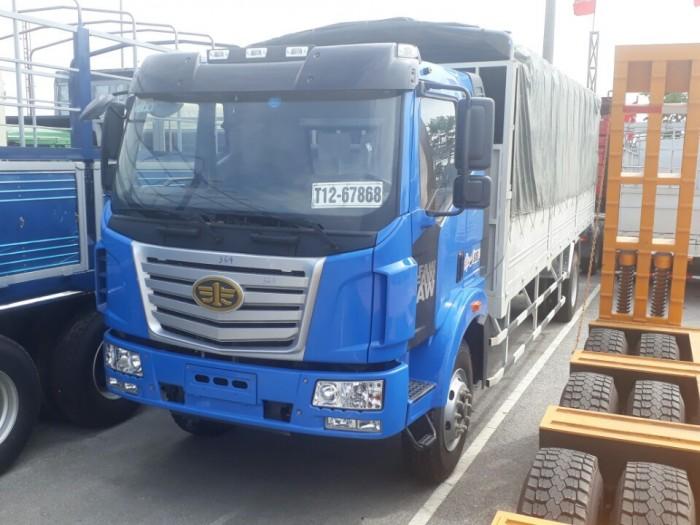 Xe tải FAW thùng 10 mét - Xe FAW thùng siêu dài 10 mét - Động cơ 6 máy 1