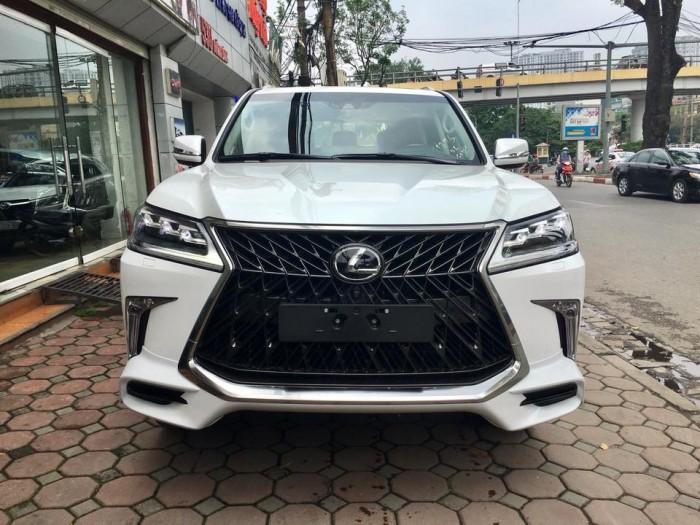 Bán xe Lexus LX570S Super Sport đời 2018, màu trắng, xe nhập khẩu Trung Đông giá tốt