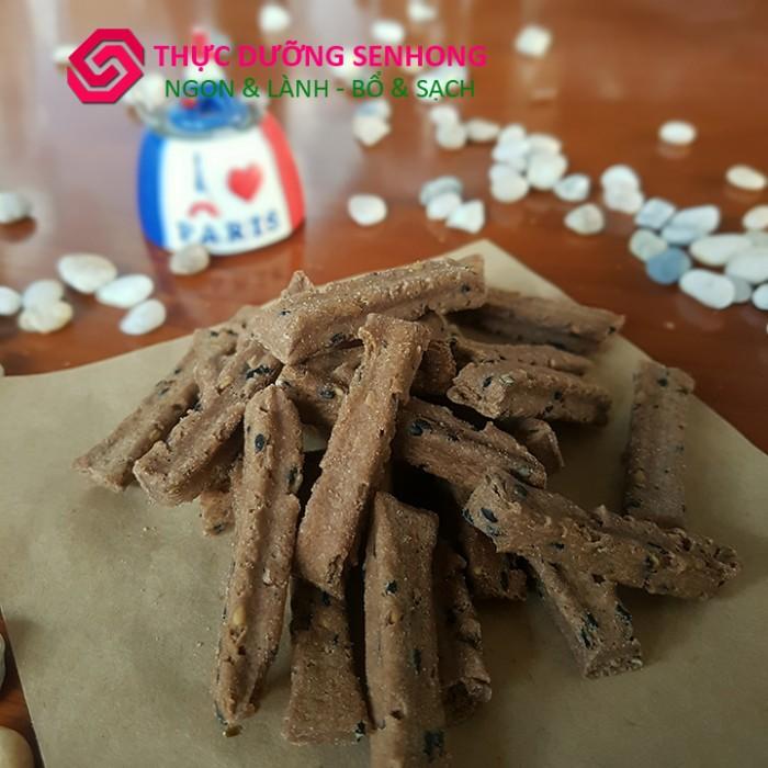 Bánh quy gạo lứt củ sen1