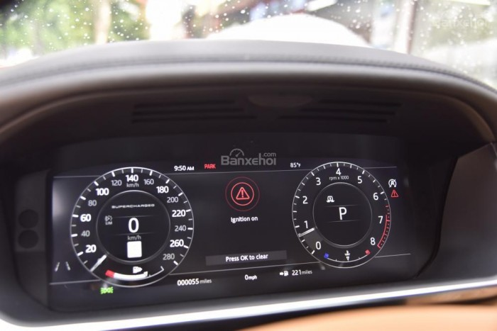 Bán LandRover Range Rover Autobio LWB đời 2018, màu trắng, nhập khẩu nguyên chiếc Mỹ giá tốt 19