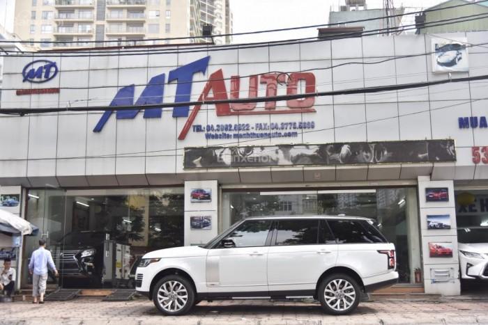 Bán LandRover Range Rover Autobio LWB đời 2018, màu trắng, nhập khẩu nguyên chiếc Mỹ giá tốt 9