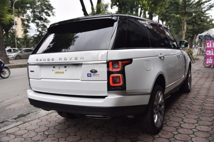 Bán LandRover Range Rover Autobio LWB đời 2018, màu trắng, nhập khẩu nguyên chiếc Mỹ giá tốt 16