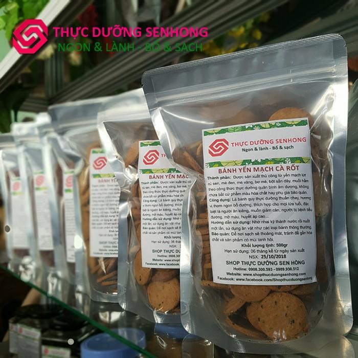 Bánh quy Yến mạch cà rốt3
