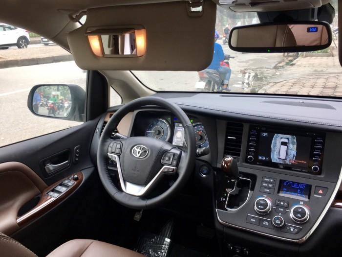 Bán Toyota Sienna Sienna Limited model 2019, màu trắng, nhập khẩu Mỹ. 14