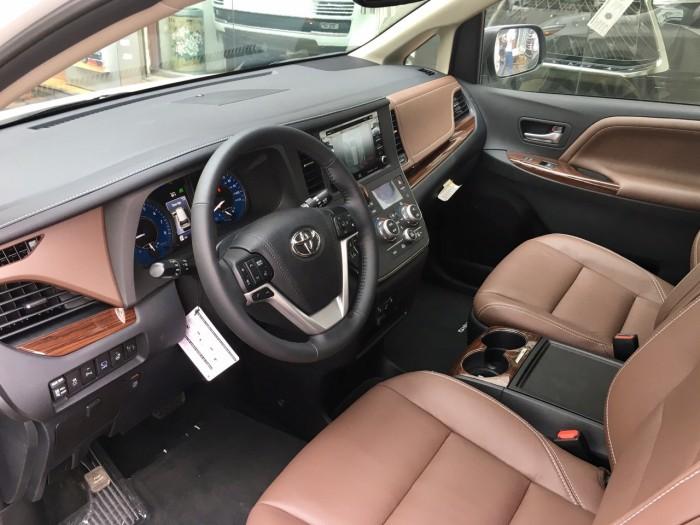 Bán Toyota Sienna Sienna Limited model 2019, màu trắng, nhập khẩu Mỹ. 2
