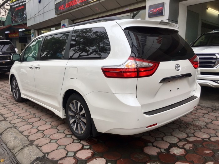 Bán Toyota Sienna Sienna Limited model 2019, màu trắng, nhập khẩu Mỹ. 17