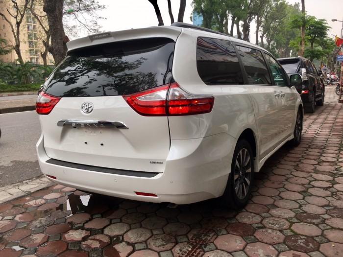 Bán Toyota Sienna Sienna Limited model 2019, màu trắng, nhập khẩu Mỹ. 4