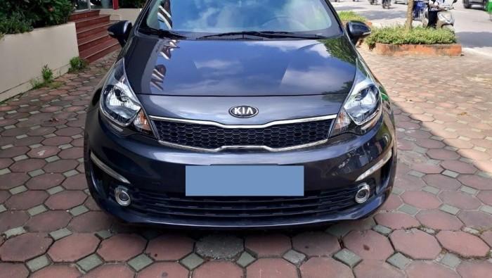 Bán xe Kia Rio 1.4AT 2016 màu xám titan nhập HQ 4