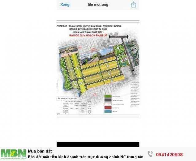 Sở hữu ngay 100m2 đất mặt tiền đường NC-N4 rộng 64m trung tâm hành chính huyện Bàu Bàng