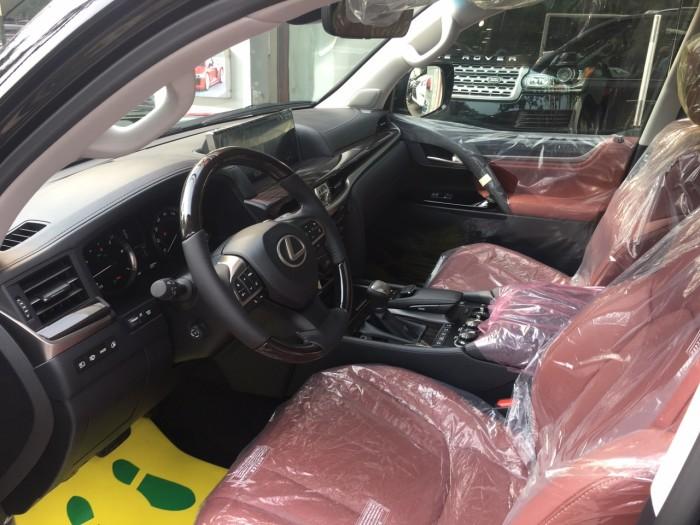 Bán ô tô Lexus LX 570 sản xuất năm 2018, màu đen, nhập khẩu Mỹ nguyên chiếc 4